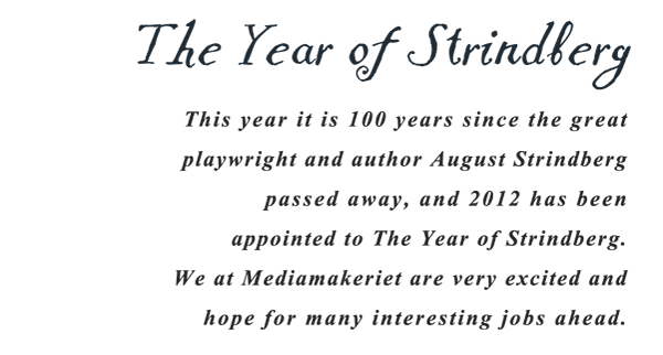 The Year of Strindberg